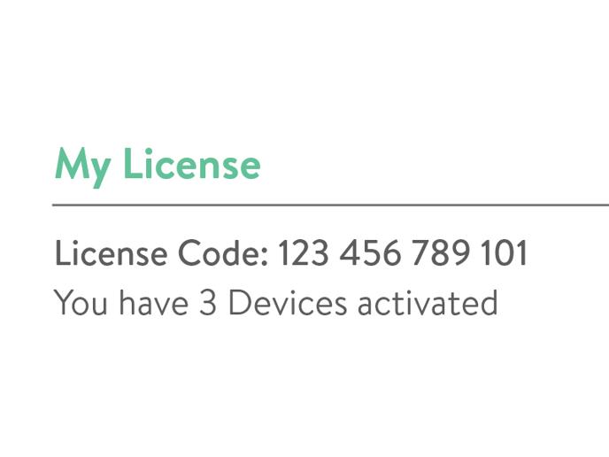 License Code - 1